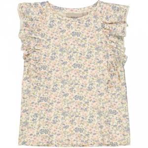Bilde av Wheat T-Skjorte, Dahlia, Flowers and Seashells