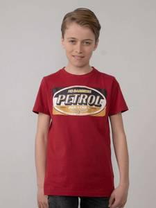 Bilde av Petrol Artwork T-Shirt, Spice Red