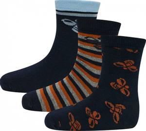 Bilde av Hummel Alfie 3-pack Socks, Black Iris Sokker