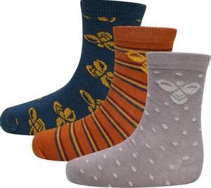 Bilde av Hummel Alfie 3-pack Socks, Blue Coral Sokker